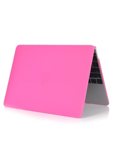 "Mcstorey MacBook Retina A1398 15"" 15.4"" Kılıf Kapak Koruyucu Hard Incase Mat Pembe"
